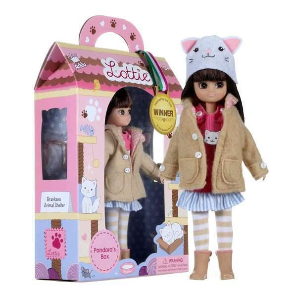 Large lottie doll pandoras box