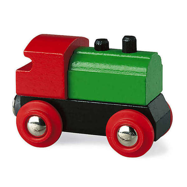 Large classic engine simple train brio railway wooden track add ons on accessories
