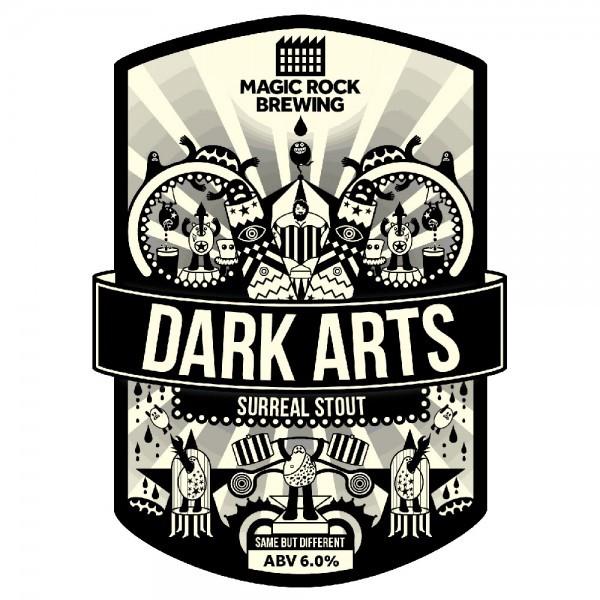 Large magic rock dark arts