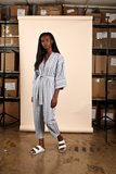 Small nyss19 jumpsuit linen stripe