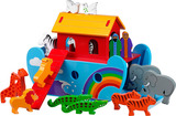 Small noahs noah and the ark coloured animals lanka kade fair trade toy toys medium density fibre mdf fun junction toy shop stop store crieff perth perthshire scotland 2
