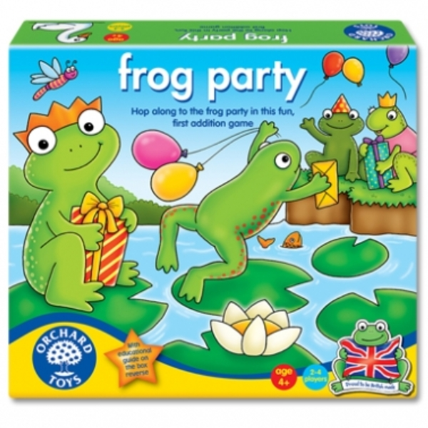 Large frog party