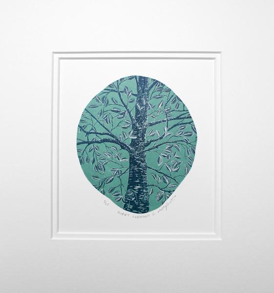 Large molly lemon  sweet chestnut ii  rural art  affordable art 2