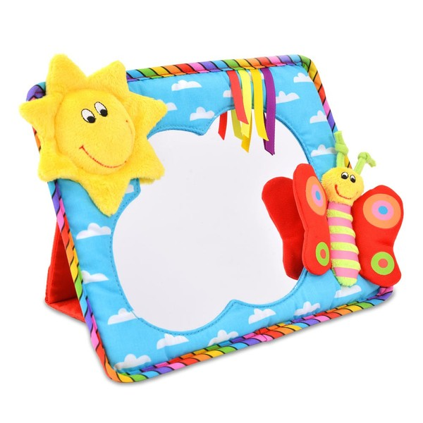 Large fun junction independent toy shop creiff perth perthshire scotland galt mirriam stobbart stoppard smiley sun miror fexible safe baby mirror early visual development