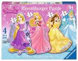 Small ravensburger fun junction toy shop perth crieff perthshire scotland jigsaw puzzle jig saw disney princess 4 large shaped puzzles