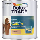 Small dulux trade quick dry varnish clear different sizes and colours l 876273 2325714 1