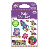 Small galt fab foil art