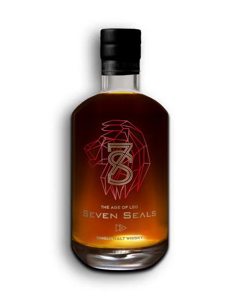 Large 7 seals whisky shop zodiak leo