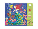 Small dj cr mermaid mosaic