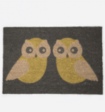 Small kissing owl doormat blink falmouth anorak