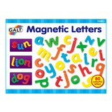 Small galt magnetic letters