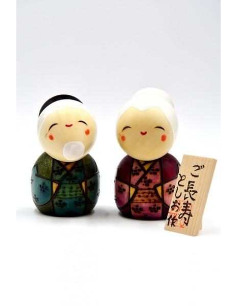 Large kokeshi doll longevity gochoujyu