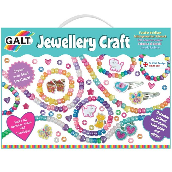 Large fun junction independent toy shop crieff perth perthshire scotland galt jewellery craft beads bracelets necklace bracelet necklaces