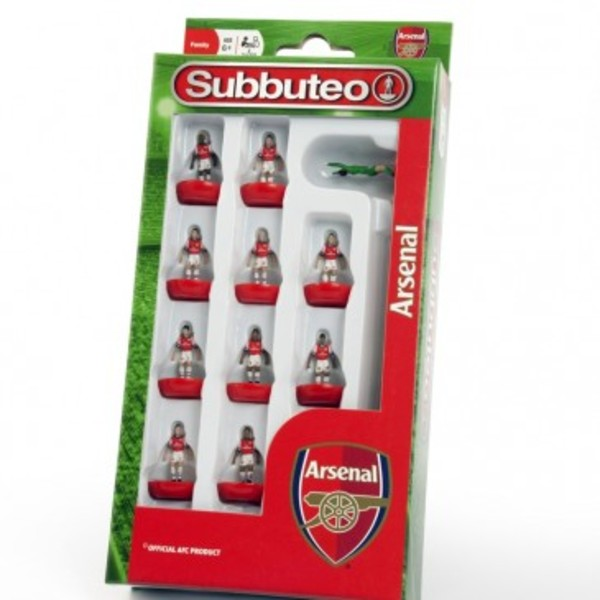 Large player arsenal team subbuteo table top football