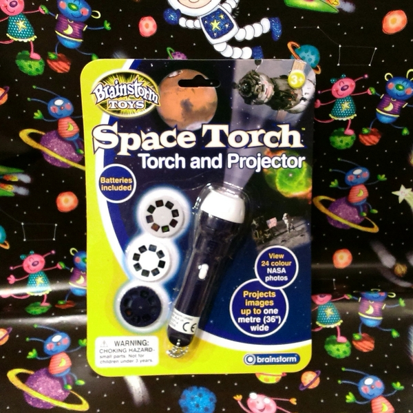 Large space torch and projector by brainstorm toys fun junction toy shop crieff perth perthshire scotland