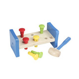 Small first pounder hape hammer pegs toy