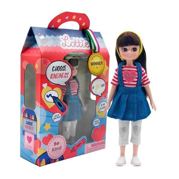 Large lottie doll be kind
