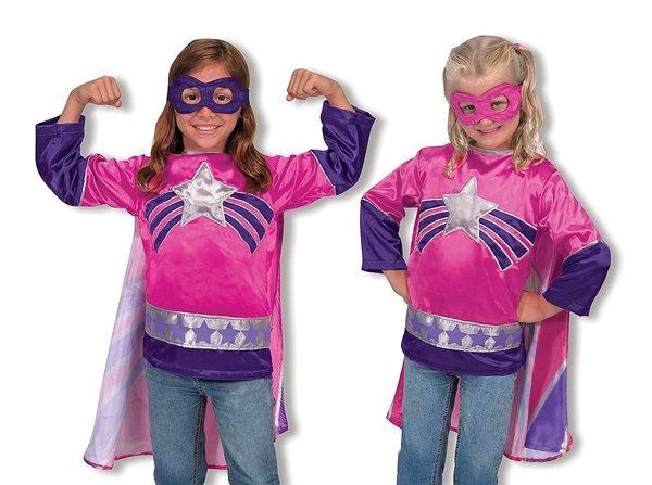 Large m d superhero pink
