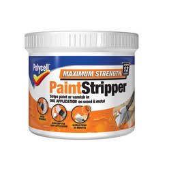 Large polycell maximum strength paint stripper