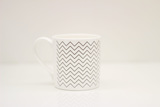 Small chevron mug raw blink