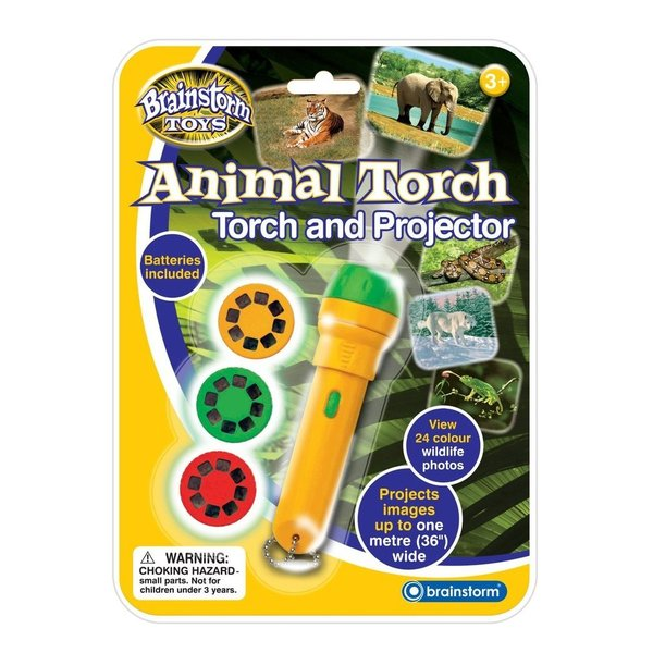 Large brainstorm animal torch and projector large pictures