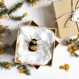 Small needle felted bee