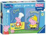 Small ravensburger fun junction toy shop perth crieff perthshire scotland jigsaw puzzle jig saw peppa pig my first puzzles 2 two piece puzzles