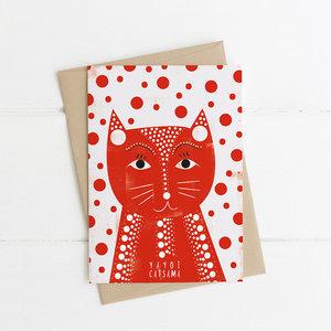 Large yayoi card