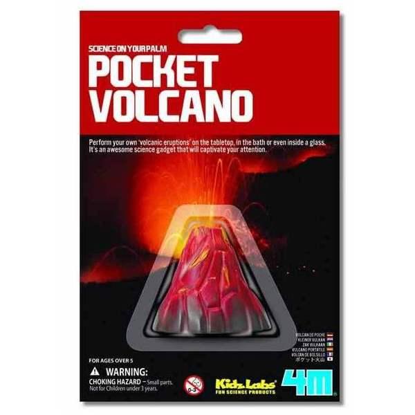 Large pocket volcano 4m kidz labz science experiment for children kids bicarbonate of soda baking soda vinegar