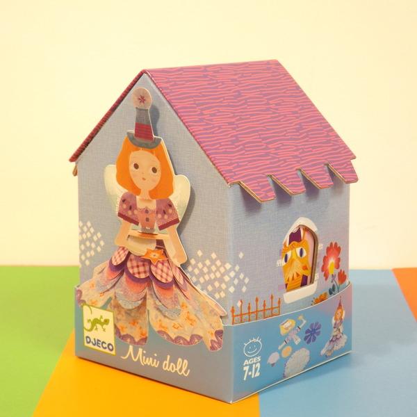 Large dj c mini doll kit blue house