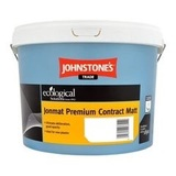 Small medium johnstones trade jonmat premium contract matt emulsion white 10lt 2453 p