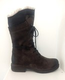 Small kneehigh brown boots1