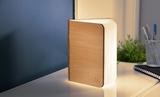 Small gingko smart book light  natural wood08