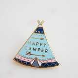 Small happycamper pin