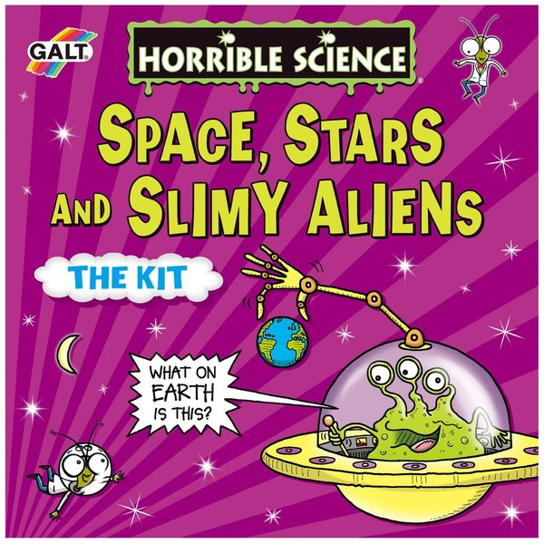 Large fun junction independent toy shop crieff perth perthshire scotland galt horrible science space stars and slimy aliens