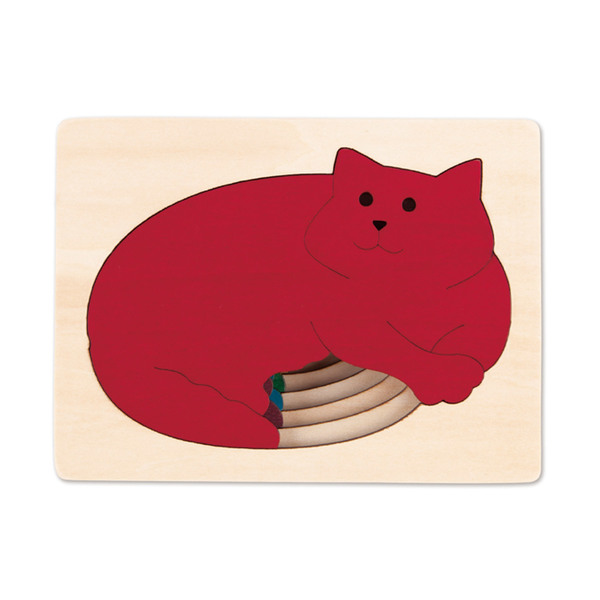 Large george luck five cats wooden jigsaw puzzle cat kitten cats pet pets hape fun junction toy shop crieff perth perthshire scotland