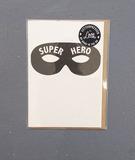 Small super hero card