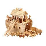 Small noahs noah and the ark neutral natural tone animals lanka kade fair trade toy toys wooden wood natural fun junction toy shop stop store crieff perth perthshire scotland 2