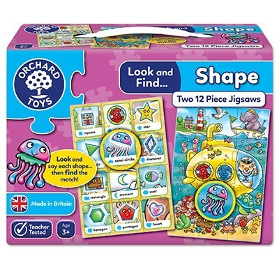 Large orchard toys look and find shape jigsaw puzzle