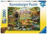 Small ravensburger fun junction toy shop perth crieff perthshire scotland puzzle animals of the savanna 200xxl