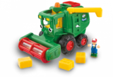 Small harvey harvester combine wow toys preschool plastic safe no batteries toy fun junction toys crieff perth perthshire scotland