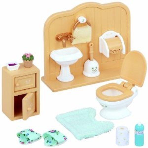 Large sylvanian families 5020 toilet set