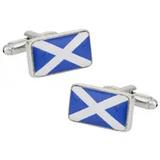 Small scotland flag cufflinks