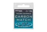 Small micro barbed carbon match spade end packed updated