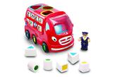 Small london bus leo wow toys preschool plastic safe no batteries toy fun junction toys crieff perth perthshire scotland
