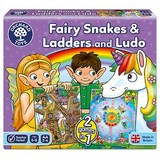 Small orchard toys fairy snakes and ladders and ludo game