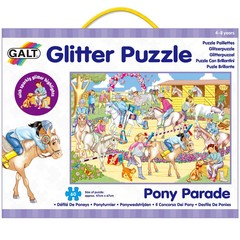Medium_pony_parade_glitter_puzzle_60_sixty_piece_jigsaw_horse_puzzle_for_children_aged_four_4_years_and_over