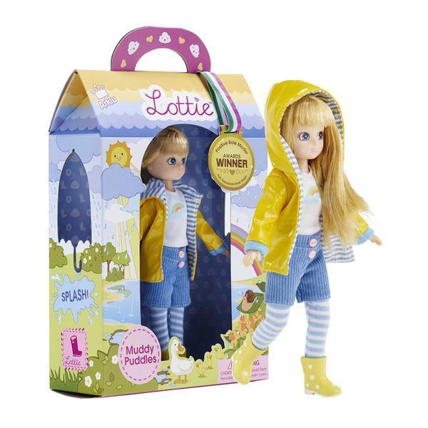 Large lottie dolls muddy puddles
