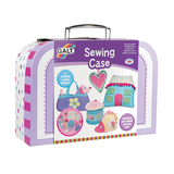 Small galt sewing case early sewing for children kids dog handbag sewing projects