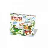 Small university games fun junction toy shop perth crieff perthshire scotland dinosaur roar  4 in 1 puzzle jigsaw preschool 12 16 20 24 piece pc